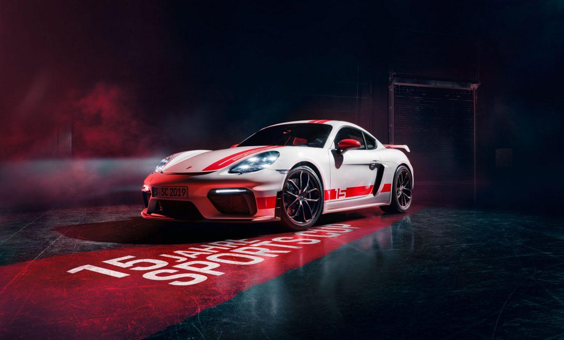 Porsche 718 GT4 Sports Cup Edition